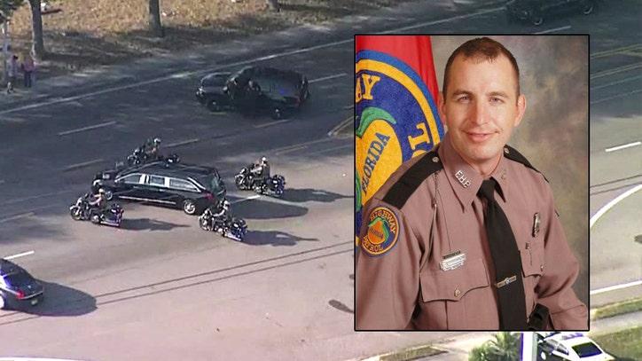 Fallen Florida trooper, Air Force veteran laid to rest Thursday
