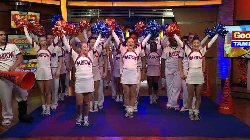 Bartow cheer team shows off the moves that brought home the Triple Crown