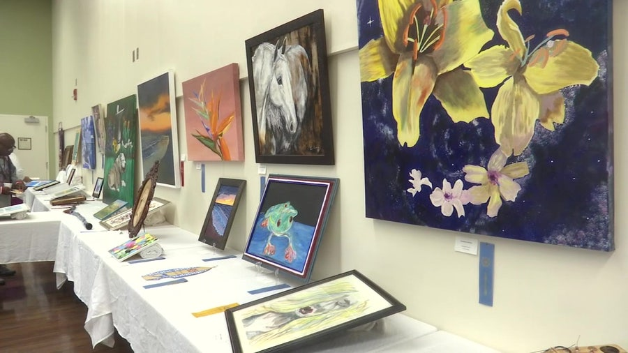 Bay Pines veterans use art therapy to deal with post-traumatic stress syndrome