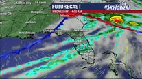 Monday afternoon weathercast