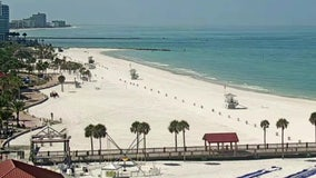 Clearwater Beach closed to stop spread of COVID-19