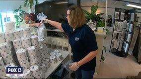 St. Pete bathroom specialists help solve tissue shortage