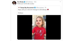Tom Brady responds to adorable Buccaneer's welcome video