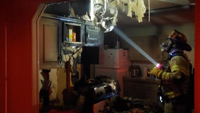 Woman hospitalized after kitchen catches fire in Brooksville