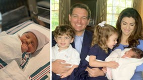 Gov. Ron DeSantis, wife announce birth of baby girl, Mamie