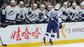 Cirelli, Sergachev help Tampa Bay Lightning beat Bruins 5-3