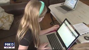Kids, parents in Pasco County adjust to school at home
