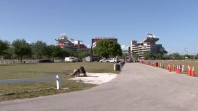 Testing site at Raymond James Stadium is finally open for symptomatic residents