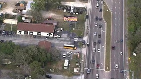 Minor injuries reported after Pasco school bus crash