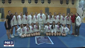 Strawberry Crest cheer team wins school's first national championship