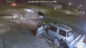 4 hurt in violent multi-car crash caused by suspected drunk driver on Detroit's east side