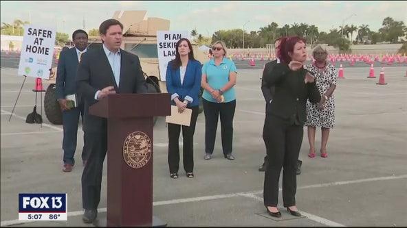 DeSantis urges patience amidst criticism of Florida's unemployment registration website
