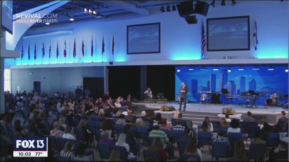 Local megachurch keeps doors open despite social distancing recommendations