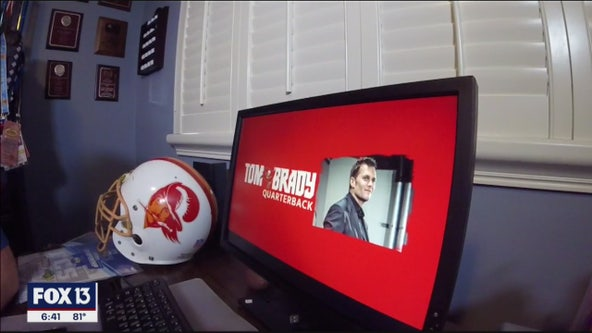 Tom Brady introduced as a Buccaneer via video conference