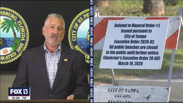 St. Pete mayor continues push for governor to order statewide lockdown