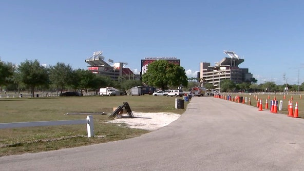 Raymond James Stadium testing site offering antibody tests