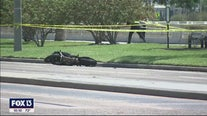 Fatal Bayshore accident leaves a bicyclist and motorcyclist dead
