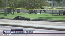 2 dead in crash along Bayshore Blvd.