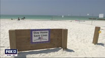 Siesta Key residents build barriers by private beaches