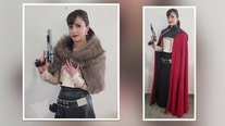 In her Tampa studio, seamstress creates contemporary costumes for couture cosplayers