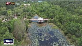 Above the Florida Botanical Gardens