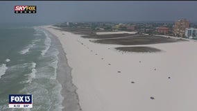 Drone Zone: Beautiful weather and empty beaches