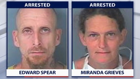 Deputies: Brooksville couple stole from Humane Society to buy drugs, pay traffic fines