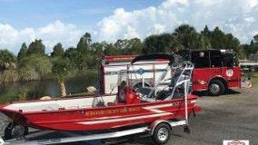Missing man rescued on Weeki Wachee River