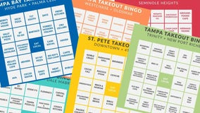 St. Pete woman creates 'Bingo' game as a reminder that restaurants are open for business