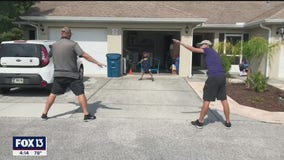 Drive-by warm-ups keep kids active, thanks to Deltona Elementary PE coach
