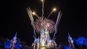 Disney World theme parks fully booked for New Year's Eve