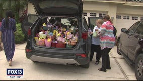 Volunteers delivering Easter to kids with disabilities this weekend