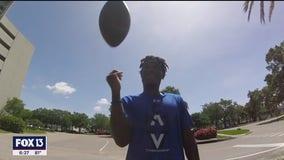 Gaither quarterback Kiael Kelly getting recruited virtually