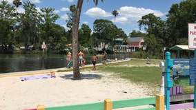 Dozens hit the sand and surf as Hernando County reopens beaches, parks