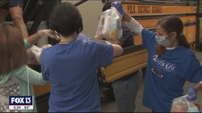 School meals delivered to kids who cannot travel in Polk County