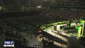 Seniors disappointed as graduation ceremonies go virtual at USF