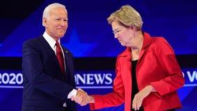 Elizabeth Warren endorses Joe Biden for president