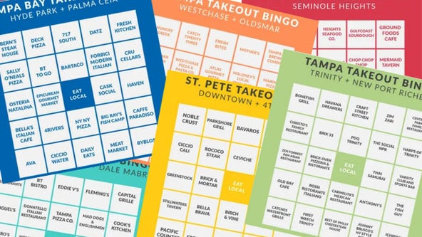 'Bingo' game helps support Tampa Bay restaurants