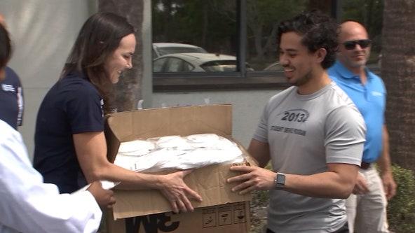 Former Buccaneer is helping local healthcare workers