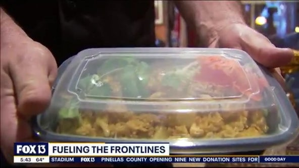 OnBikes advocate turns attention to feeding first responders