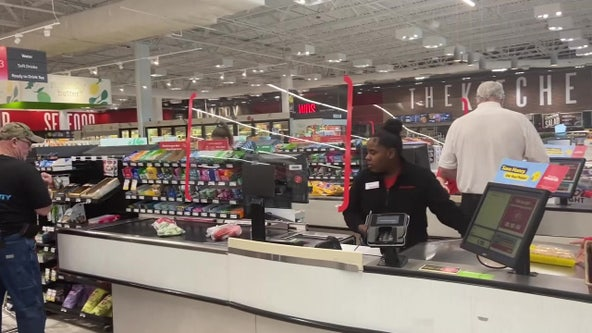 Expect Plexiglass, long lines as grocery stores adjust during coronavirus pandemic