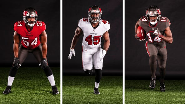 Tampa Bay Bucs reveal new and nostalgic uniforms for 2020 season