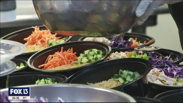 Community effort feeds hospital workers while supporting local restaurants