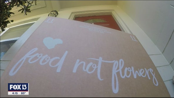 Food Not Flowers lets you send comfort, food to someone's front door