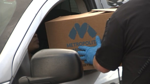 Metropolitan Ministries demand has tripled since pandemic began