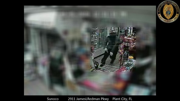 Reward offered to find suspect who shot Plant City gas station clerk shot in the face during robbery