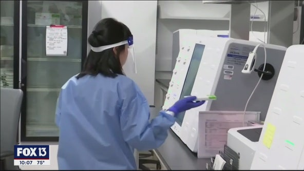 Rapid COVID-19 testing begins Thursday in Tampa Bay area, offering results in minutes, not days