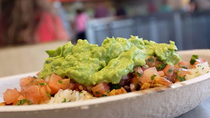 Chipotle reveals recipe for signature guacamole
