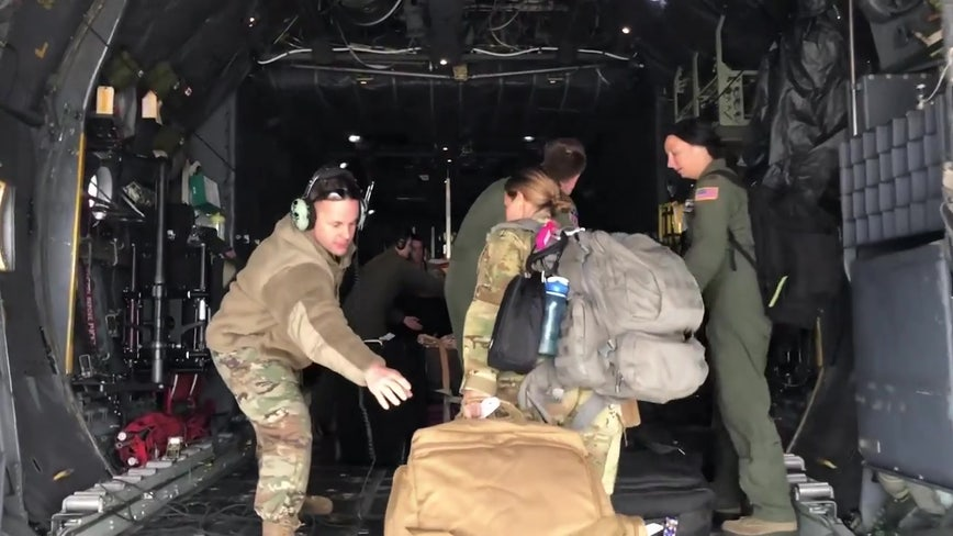 Reserve medics based at MacDill Air Force Base activated to fight COVID-19 in New York