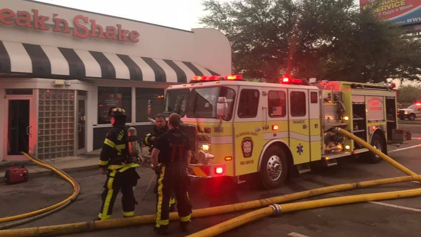 Early morning fire at Northdale Steak 'N Shake under investigation